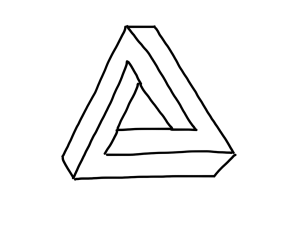 How To Draw An Impossible Triangle Owen Biesel